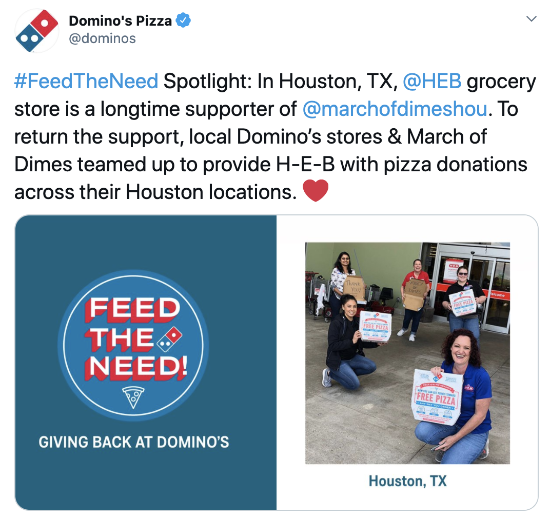 Domino's Pizza - Feed The Need